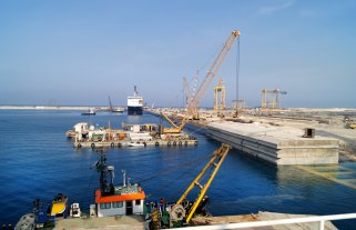 King Abdullah Port  Completion