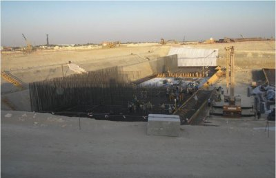 Marafiq IWPP – Pump Station Construction
