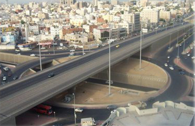 Construction of Intersection of Old Makkah Road With Al Iskan and Al Jameah Road Project